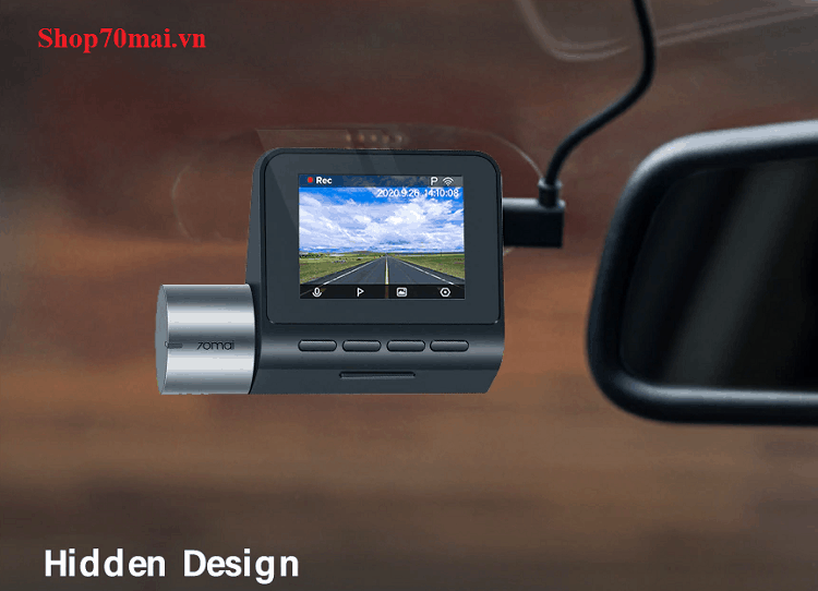 Thiết kế A500 70mai pro plus
